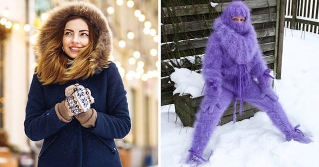 Kada dođe zima, postoje dva tipa cura: