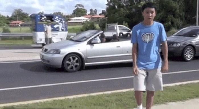 Priredili su vozaču takvu psinu da nije znao bi li se smijao ili plakao
