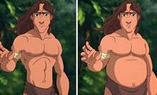 Evo kako bi poznati Disneyevi likovi izgledali da imaju koju kilu viška