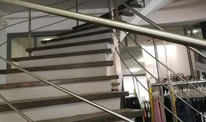 Kupcima u dućanu nije bilo jasno kuda vode ove stepenice, evo zašto