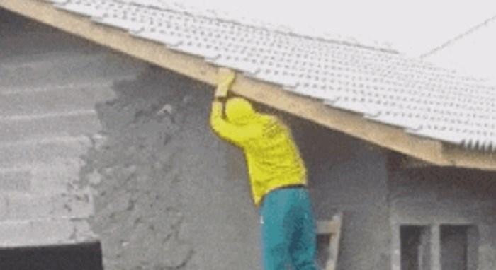 Morate vidjeti kako ovi majstori obavljaju radove na kući
