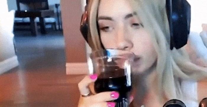 Cura je pila vino, ovo što se dogodilo nije planirala snimiti