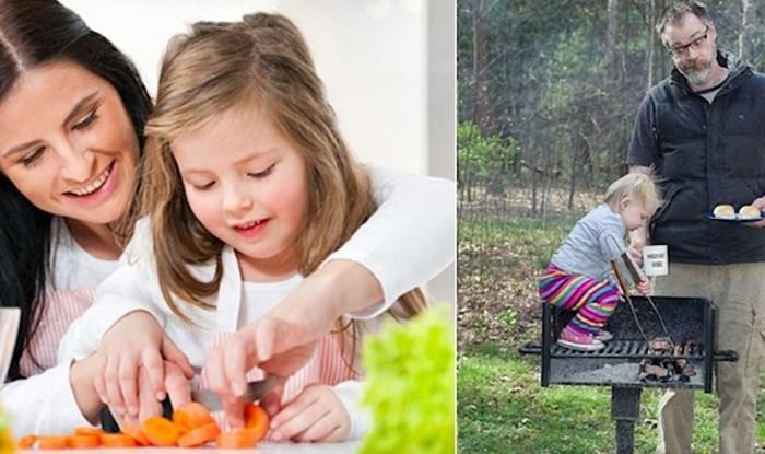 Ove fotke savršeno opisuju glavne razlike između mama i tata