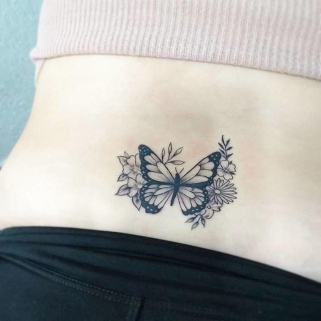 Leptiri na leđima