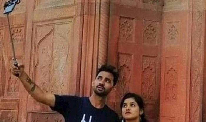 Par je odlučio napraviti selfie, na njima je nešto jako čudno što nećete odmah primijetiti