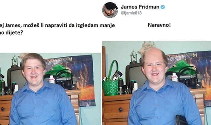 Lik koji ljudima photoshopira fotke po njihovim željama ne prestaje nas nasmijavati, ovo je hit