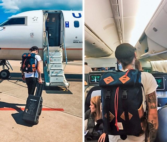 Pretvarao se da putuje privatnim zrakoplovom, ali su ga otkrili