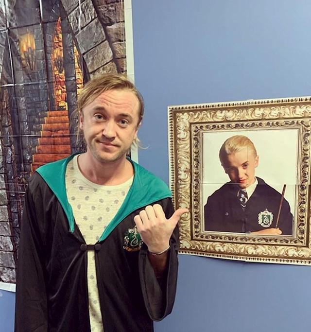 Ni Tom Felton ne može vjerovati koliko je vremena prošlo od početka snimanja Harryja Pottera...