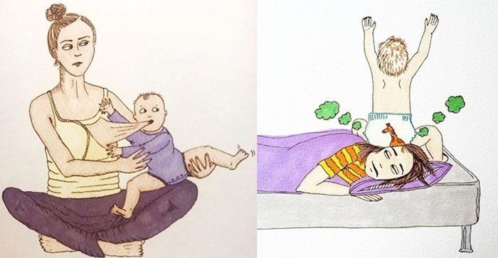 Mama iz Norveške prikazuje svoj život putem duhovitih ilustracija, roditelji će se pronaći