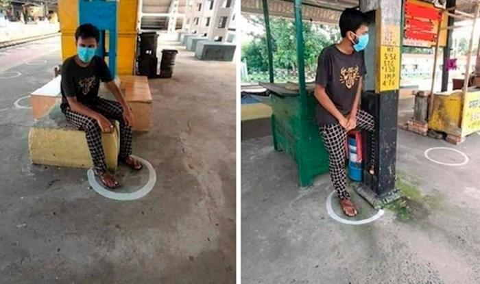 Ljudi se smiju znakovima socijalnog distanciranja u Indiji, ovo je nevjerojatno