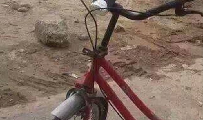 Morate vidjeti sjedalo na ovom biciklu, kako je ovo uopće moguće?