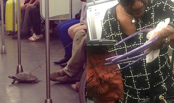 Najveći čudaci u javnom prijevozu - njih ne želite sresti