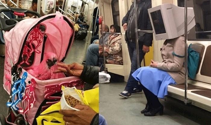 Ljudi su slikali najčudnije prizore u javnom prijevozu, ovo je nevjerojatno