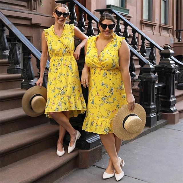 Sa Blair Eadie, kao predivne dame u žutom