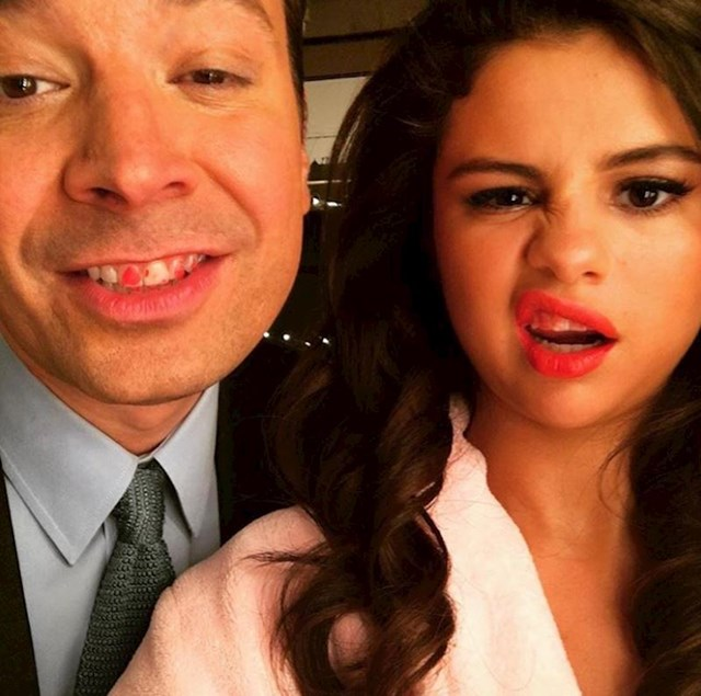 Selena Gomez i Jimmy Fallon