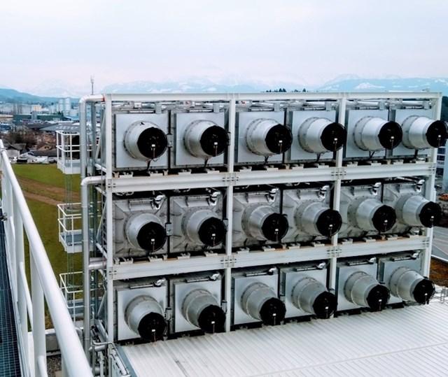 """U Švicarskoj postoji tvornica koja """"usisava"""" ugljični dioksid iz zraka"""