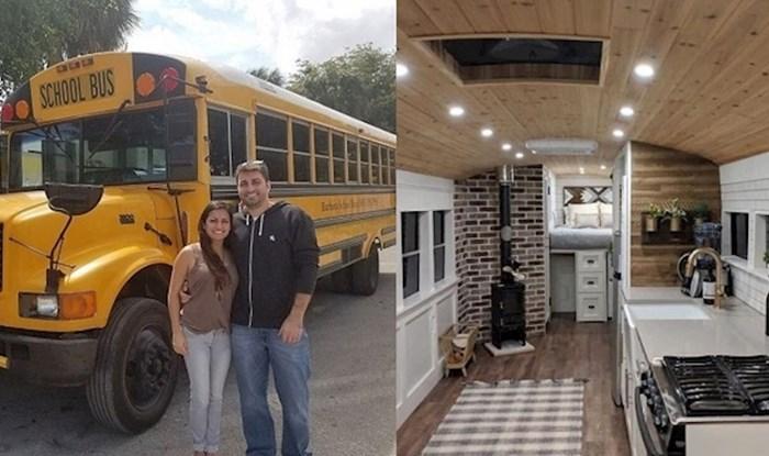 Kupili su školski autobus i pretvorili ga u neodoljivu pokretnu kućicu