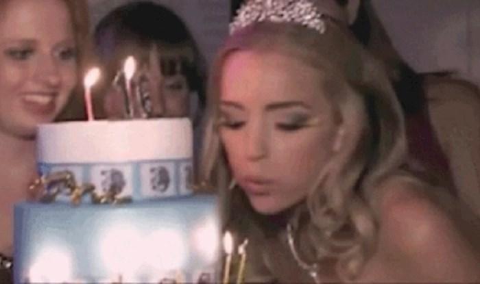 Cura je slavila rođendan, puhanje svjećica ostalo joj je u gorkom sjećanju