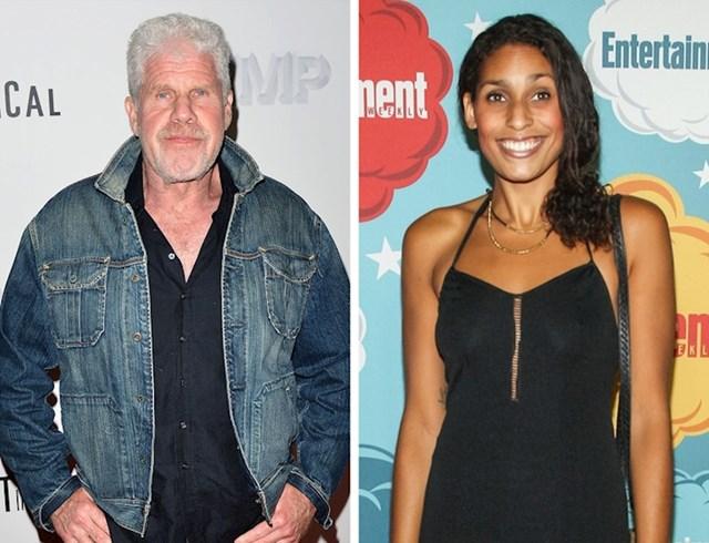 Ron Perlman i kćer Blake Perlman