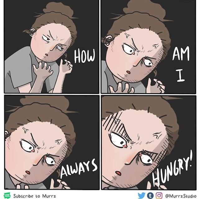 Zašto sam ja stalno gladna?