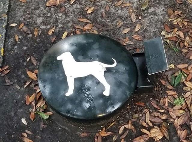 Kontejner za pseći otpad