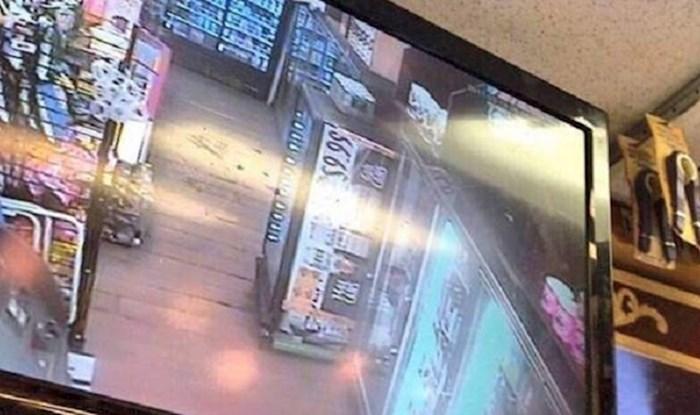 Trgovac je pogledao snimku kamere u dućanu, jedna stvar ga je jako nasmijala