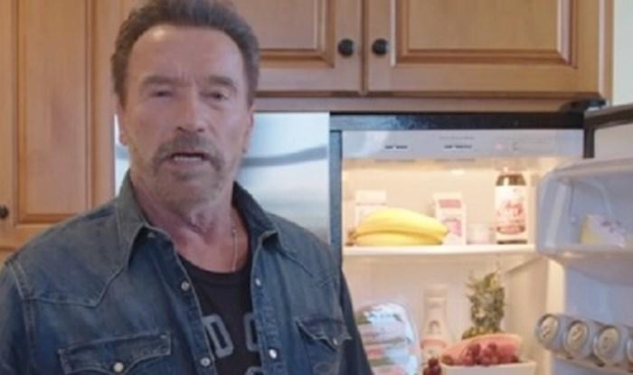 Zavirite u hladnjak i teretanu Arnolda Schwarzeneggera