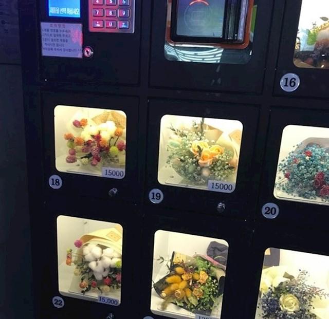 Automat s cvijećem