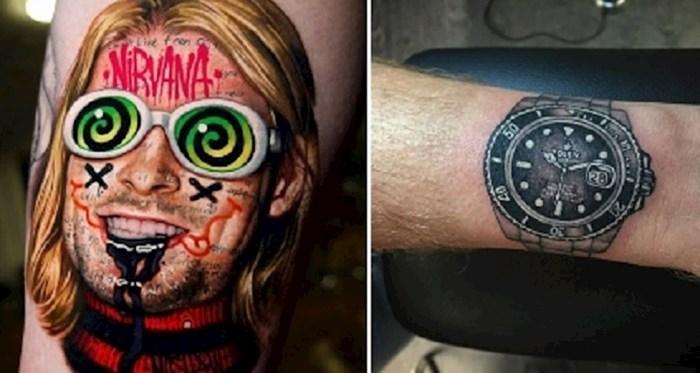 Galerija očajnih tetovaža. Kako netko može ovo gledati na sebi cijeli život?