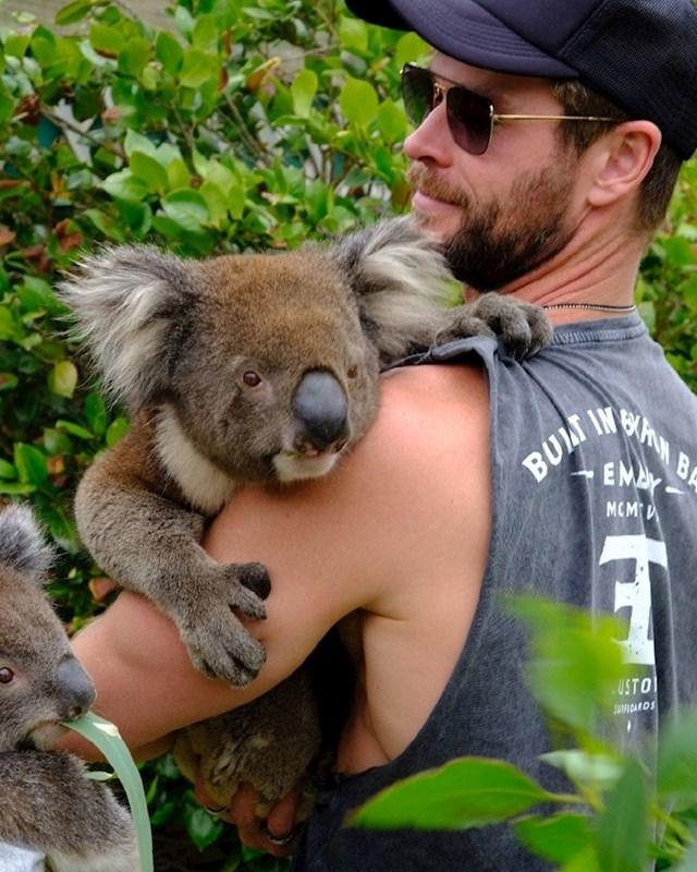 Chris Hemsworth donirao je milijun dolara za Australiju.
