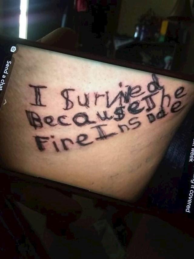 """""""Sestra mog dečka ima novu tetovažu! Oduševljeni smo..."""""""