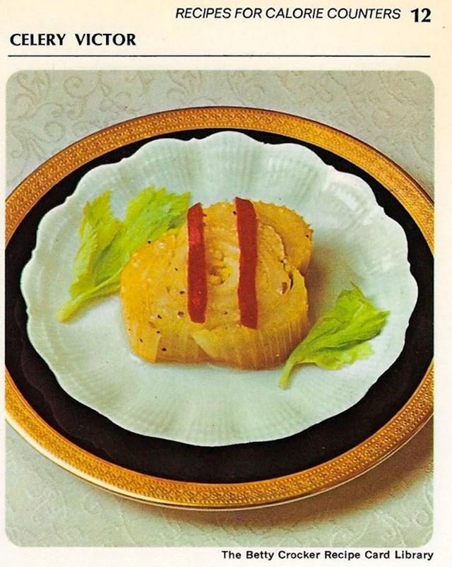 Jedno jednostavno jelo, celer