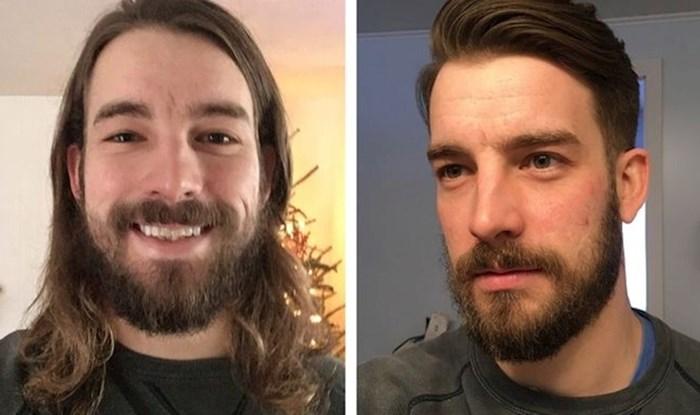 12 puta kada su muškarci otišli u frizerski salon i potpuno se transformirali