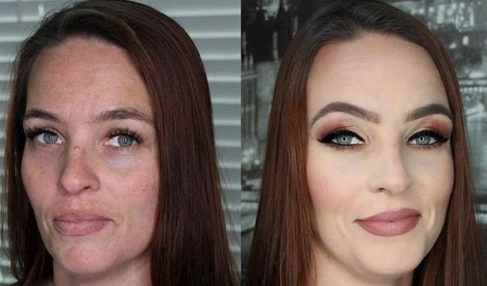 Ove žene dokazuju nam da uz malo šminke možemo potpuno osvježiti svoj izgled