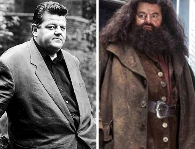 Rubeus Hagrid, Robbie Coltrane