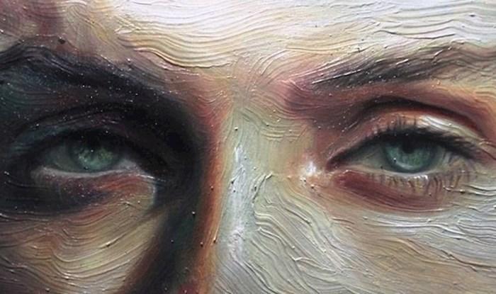 Umjetnica slika realistične slike očiju kojima slavi ljudske emocije