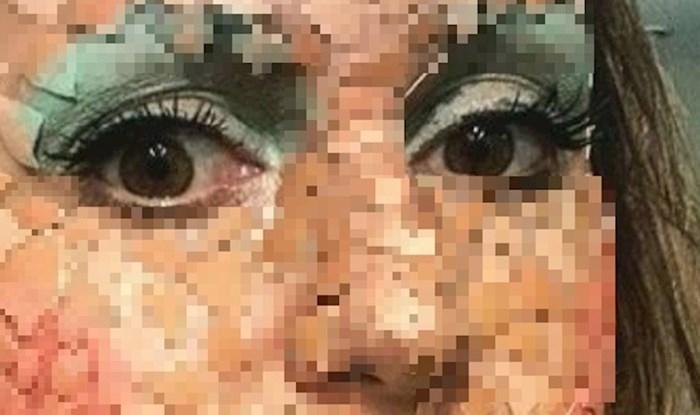Make up je otišao predaleko? Pogledajte što si je ova cura zalijepila na lice