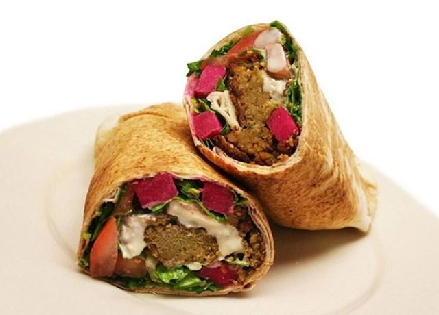Četiri falafel sendviča u Egiptu