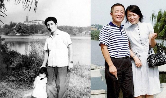 Kroz 40 godina fotografirali su se na istom mjestu, fotke pokazuju kako vrijeme leti