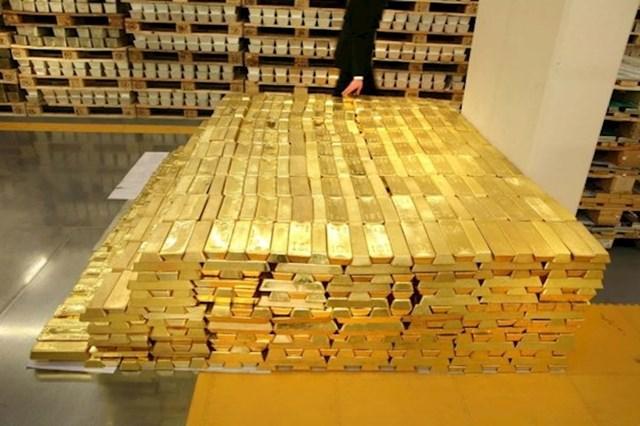 1,6 milijardi dolara u zlatnim polugama
