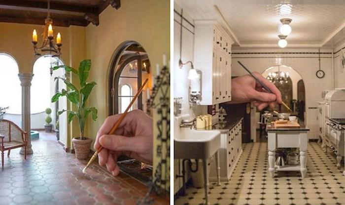Umjetnik izrađuje nevjerojatno detaljne minijaturne sobe
