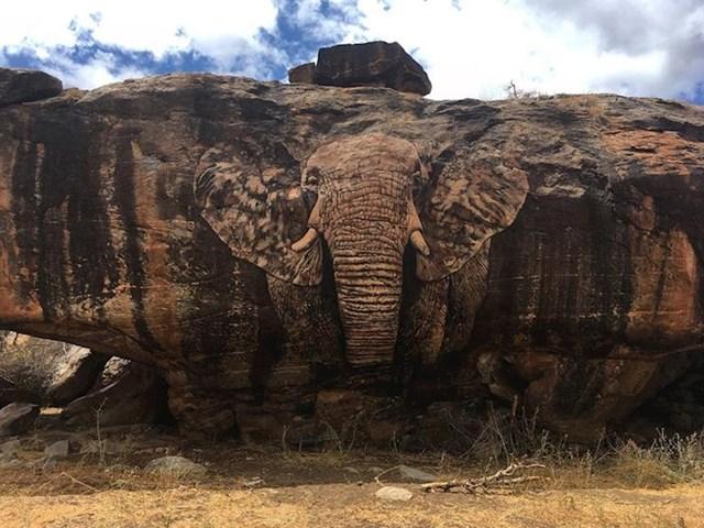 Umjetnost na stijeni u Keniji