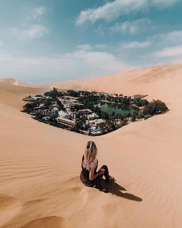 Huakachina, otuđena pustinjska oaza u Peruu