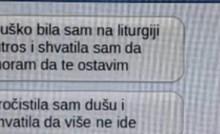 Djevojka je preko poruka ostavila dečka, njegova reakcija je bizarna