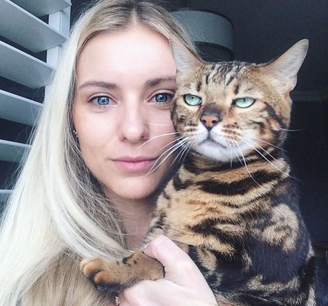 """""""Mačka moje sestre nije bila raspoložena za fotkanje..."""""""