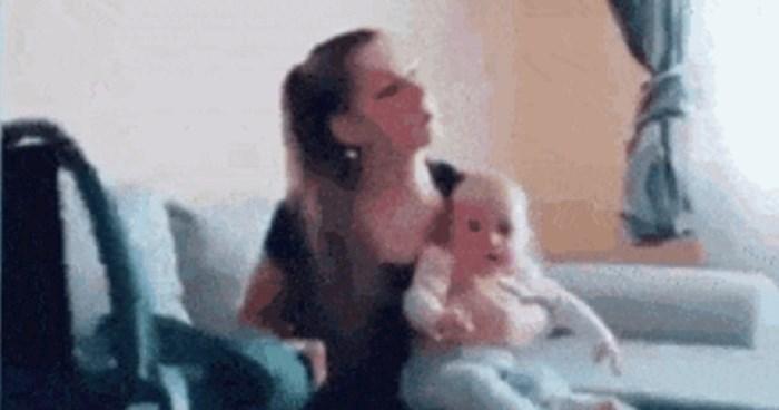 Ovoj ženi se dogodila jedna stvar koja je sigurno poznata svakoj umornoj mami