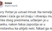 Twitteraš na urnebesan način objasnio zašto su svi likovi iz Harryja Pottera Hrvati