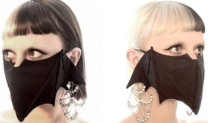 35 maski za lice inspiriranih Halloweenom