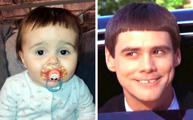 Tata je pokušao ošišati kćer i ona sada izgleda kao Lloyd iz filma Glup i gluplji