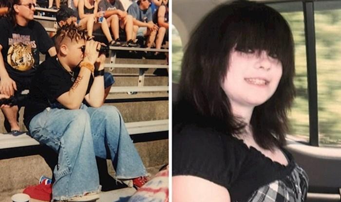 Ljudi su izvukli svoje sramotne slike iz tinejdžerskih dana za koje su tada mislili da su totalno cool